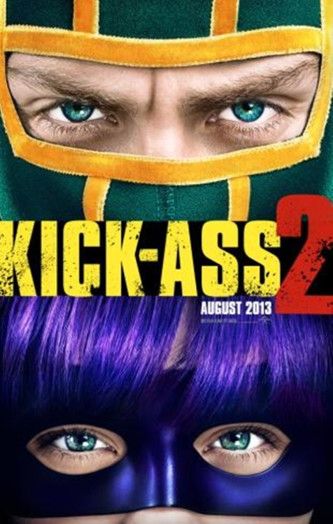 kick-ass 2 primer poster