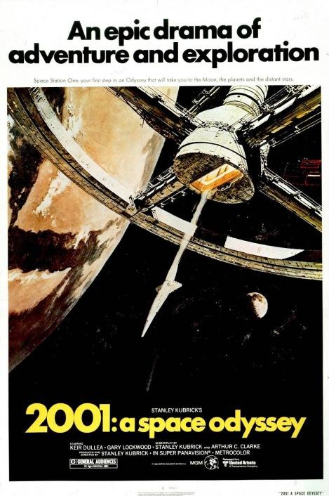 2001 Una Odisea del Espacio POSTER