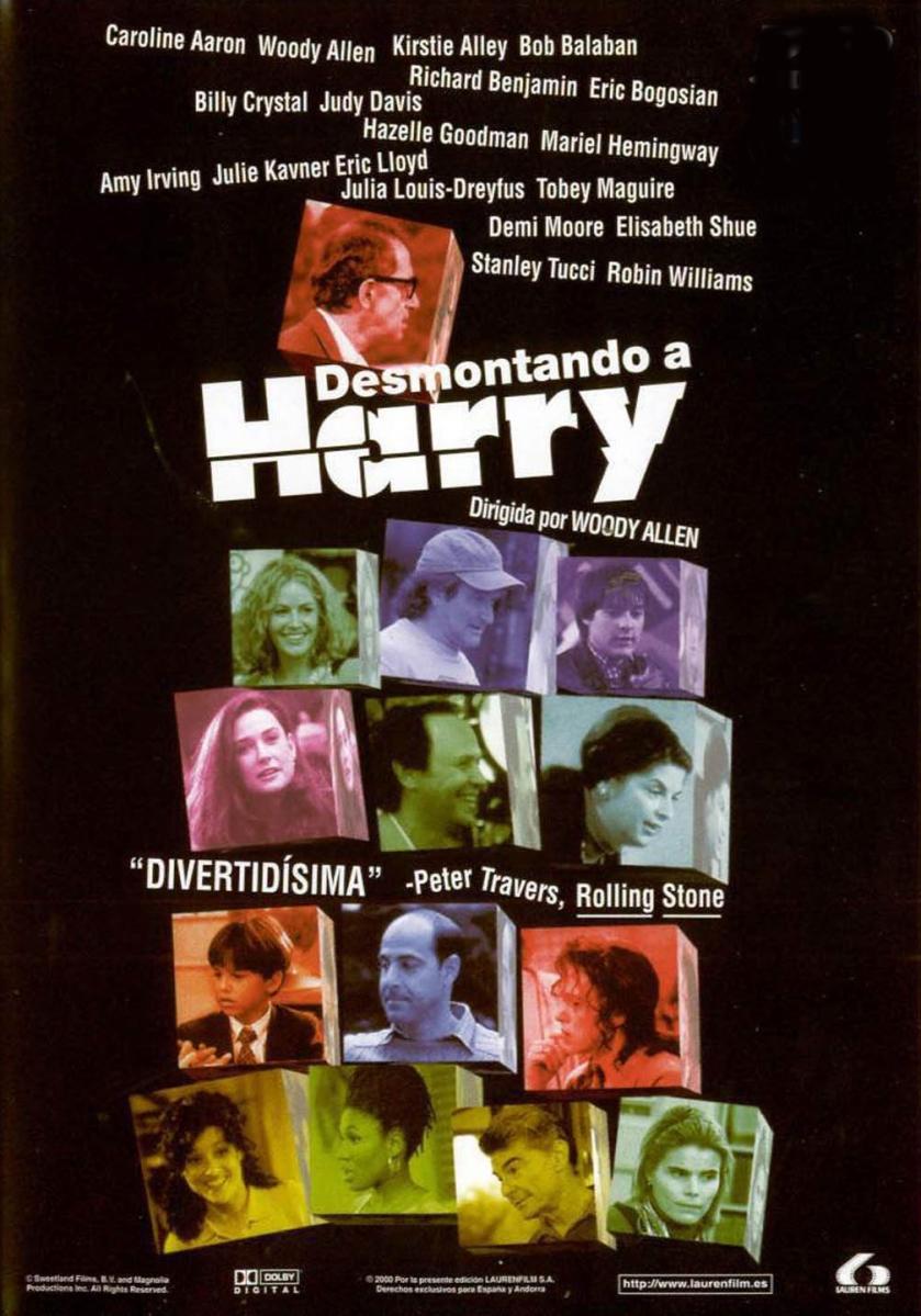 CRÍTICA: 'Desmontando a Harry' (1997)