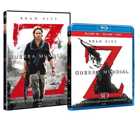 GUERRA MUNDIAL Z DVD BLU-RAY