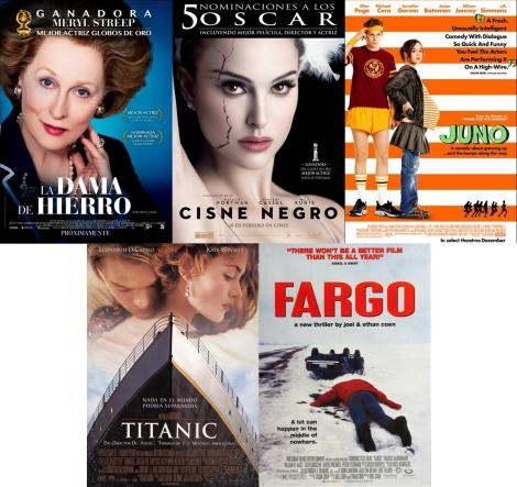 Películas DVD Oscar