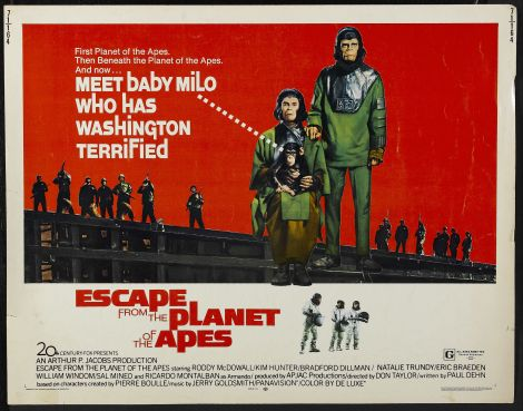 1971 Escape from the planet of the apes - Huida del planeta de los simios (ing) (hs)