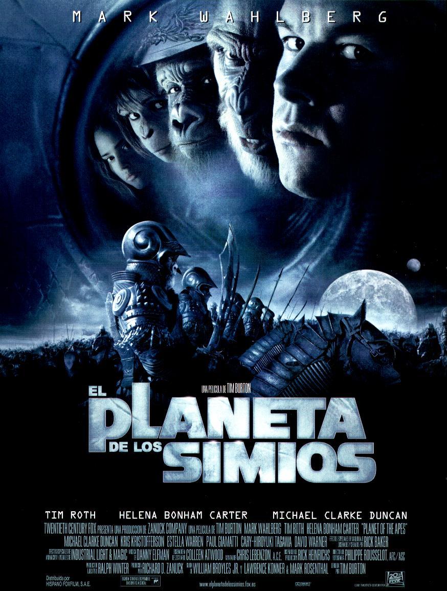 Resultado de imagen para El Planeta De Los Simios (2001)