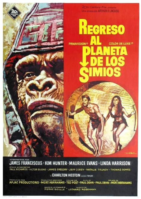 regreso simios poster