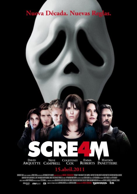 scream4castposterspain