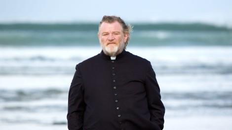 Priest (Brendan Gleeson) in Calvary