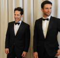 Paul Rudd y Adam Levine