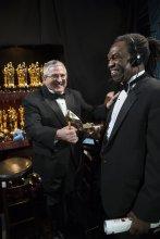 El backstage de los Oscar