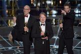 El equipo de 'Big Hero 6' festeja su Oscar
