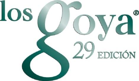 logo 29 goyas volumen verde ingles CMYK vectori