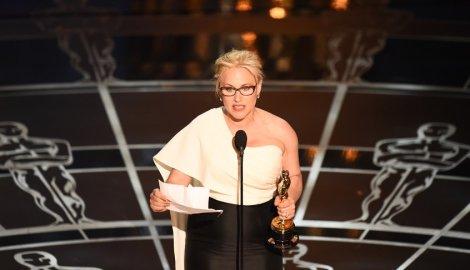 Patricia Arquette y su gran discurso