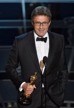 Pawel Pawlikowski recoge su Oscar a la Mejor Película de Habla no Inglesa por 'Ida'