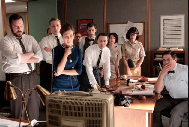 Reacciones a la muerte del Presidente Kennedy en la 3ª temporada.