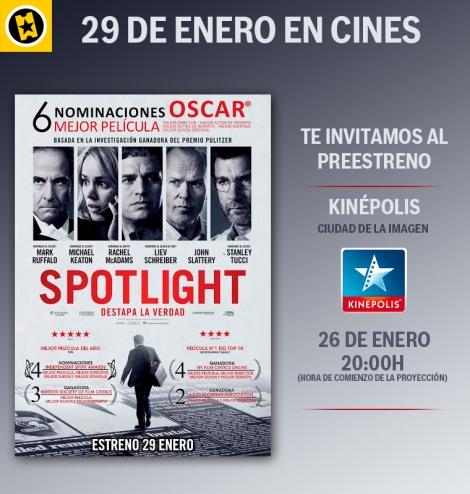 Concurso Spotlight